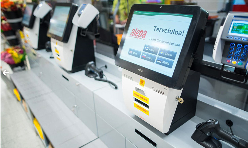 Finnish stores Alepa ja Sale now offer self-checkout option for busy customers